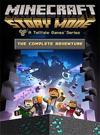 Minecraft: Story Mode - The Complete Adventure (Episodes 1-8) XBOX LIVE Key XBOX ONE GLOBAL