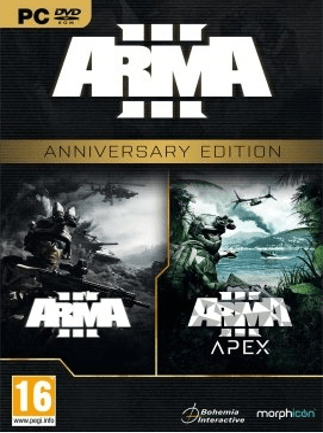 Arma 3 Anniversary Edition Steam Key EUROPE