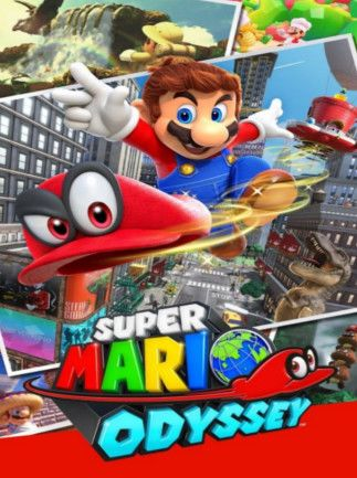 Super Mario Odyssey Nintendo Key Nintendo Switch NORTH AMERICA