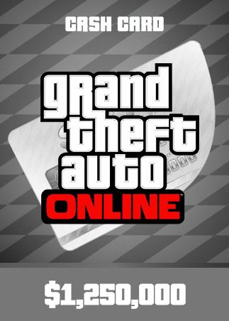 Grand Theft Auto Online: Great White Shark Cash Card 1 250 000 PSN Key NORTH AMERICA PS4
