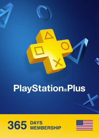 Playstation Plus CARD 365 Days PSN NORTH AMERICA