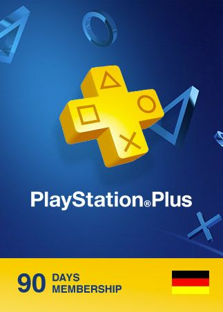Playstation Plus CARD 90 Days GERMANY PSN
