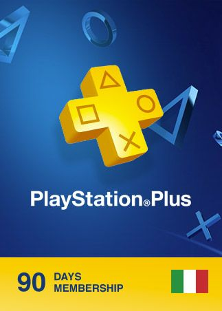 Playstation Plus CARD 90 Days ITALY PSN