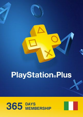 Playstation Plus CARD 365 Days PSN ITALY