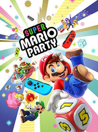 Super Mario Party Nintendo Key Nintendo Switch NORTH AMERICA
