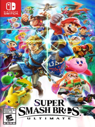 Super Smash Bros. Ultimate Nintendo Key Nintendo Switch NORTH AMERICA
