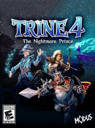 Trine 4: The Nightmare Prince - Steam - Key ( GLOBAL )