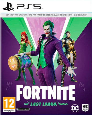 Fortnite: The Last Laugh Bundle EUROPE PS5