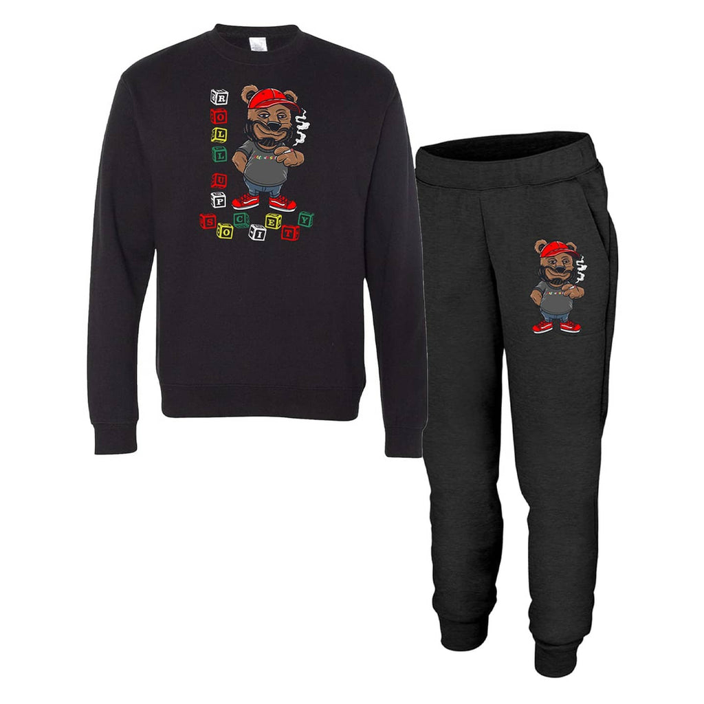 Blocks-n-Bear Jogger