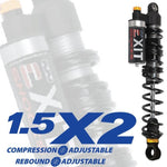 Suzuki LT-R 500 EXIT X2 Series Front Shocks (1987-1990)