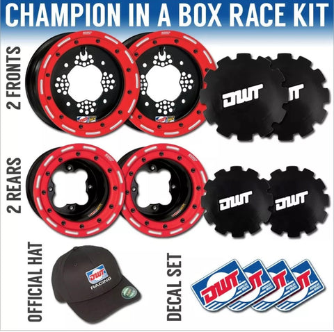 DWT Champion Box Set Worcs Red Yamaha Beadlocks