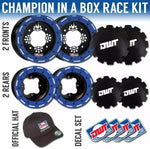 DWT Champion Box Set Worcs Honda Blue Beadlocks