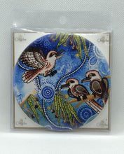 Load image into Gallery viewer, Ceramic Coaster Chernee Kookaburra