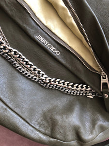 Jimmy Choo biker bag