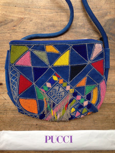 Pucci beaded bag