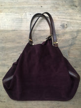 Load image into Gallery viewer, Michael Kors large suede tote