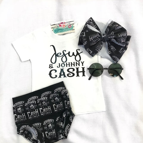 Jesus & Johnny Cash Tee