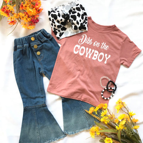 Dibs on the Cowboy tee