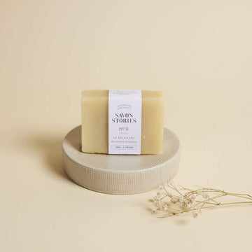 Savon solide relaxant (racines d'orcanette) - Peaux matures - The Naked Shop