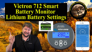 Victron 712 Smart Lithium Battery settings