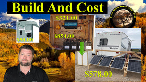 DIY Affordable Off Grid Solar System - 2 KWH For $2000 and SUPER EASY