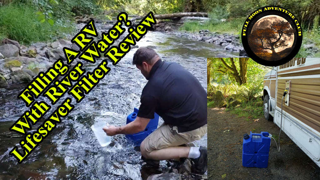 Unlimited Water Boondocking - Lifesaver Jerry Can Filter Review