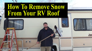 How To Remove Snow From A RV Roof