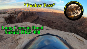 Long Canyon Road Utah Bottom To Top Suzuki DRZ 400