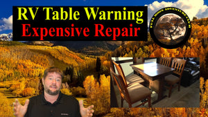 RV Slide Out Table Warning