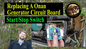 Replacing A Onan  Generator Circuit Board