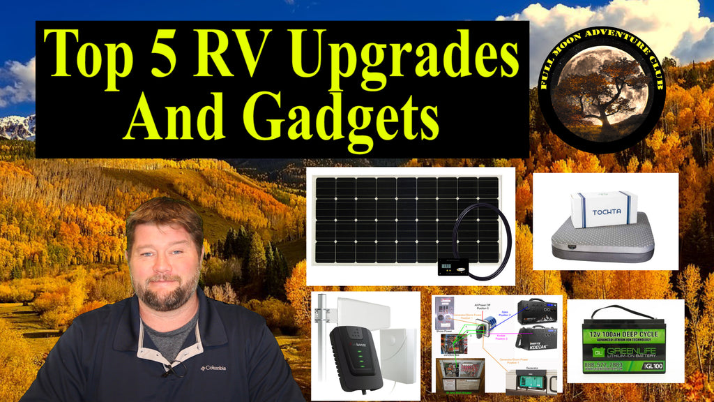 Top 5 RV Upgrades And Gadgets - 2020