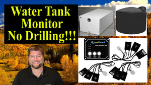 Water Tank Level Monitoring System - No Drilling - LevelGuard Review