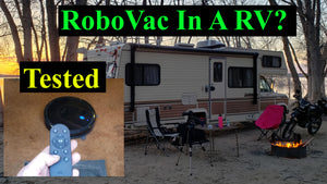 Robot Vacuum For A RV?  EUFY Robovac 30C Review