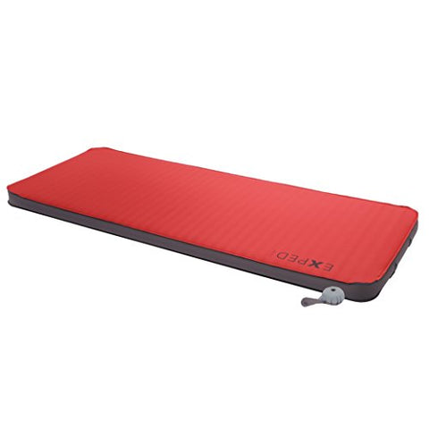 Exped Megamat 10 Insulated Self-inflating Sleeping Pad, Ruby Red, Large Extra Wide