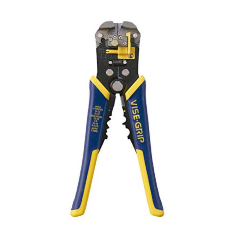 IRWIN VISE-GRIP 2078300 Self-Adjusting Wire Stripper, 8""