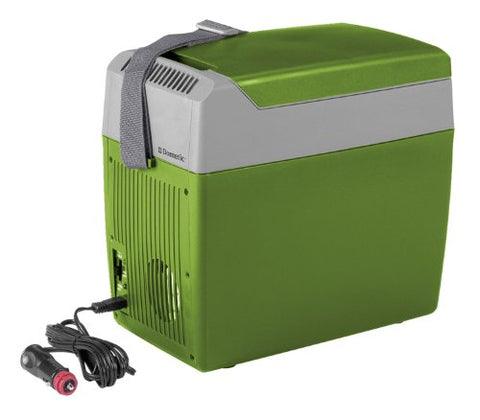 Dometic TC-07US Portable Thermo Electric Cooler/Warmer 7 Quart, Green/Gray