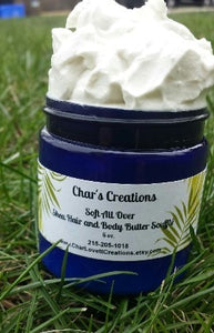 Souffled Moisturizing Shea Hair and Body Butter Moisturizer