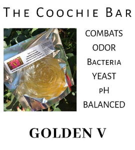 New  Golden V Herbal and Essential Oil Cleansing Bar