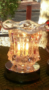 Crystal Clear touch lamp