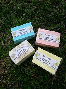Mango butter, Shea butter, and Cocoa butter- Triple Butter Soap Excellent for eczema!!!!