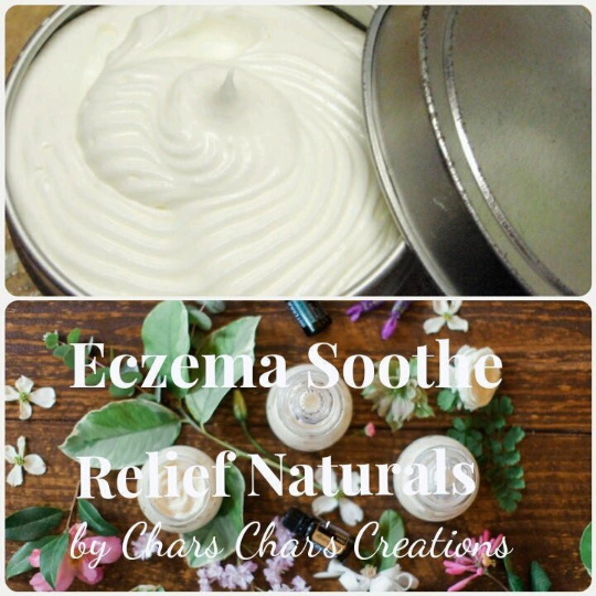 Eczema and Psoriasis Soothe Relief Body Butter Cream Salve