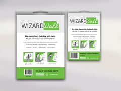 Wizard Wall Easy-Cling Sheets