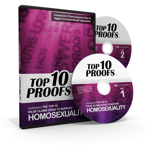 Top Ten False Claims Given to Support Homosexuality