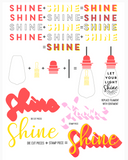 Shine On Stamp and Die Set, Concord and 9th