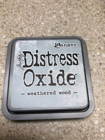 Weathered Wood, Distress Oxide Pad, Tim Holtz
