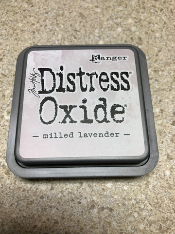 Milled Lavender, Distress Oxide Pad, Tim Holtz