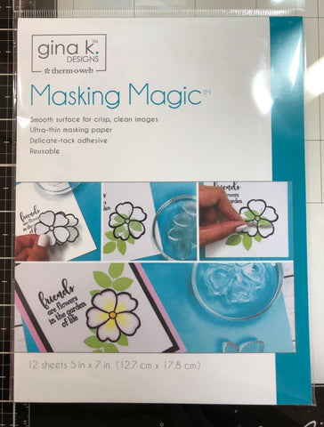 Masking Magic Sheets 5 in x 7 in (12 sheets), Gina K. Designs