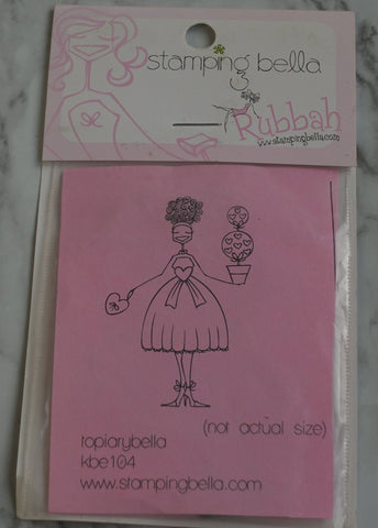 Topiary Bella, Stamping Bella Rubber Stamps
