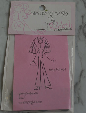 Groovy Brideabella, Stamping Bella Rubber Stamps