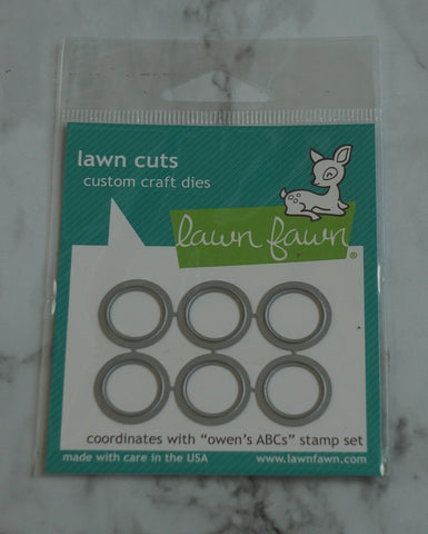 Dies for Owen's ABCs Stamp Set, Lawn Fawn